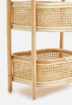 Sixth Floor - Dawn cane storage rack - natural