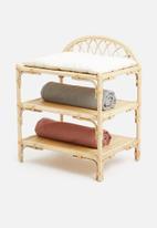 Sixth Floor - Luna rattan changing table - natural