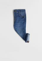 MANGO - Diego slim fit jeans - mid blue