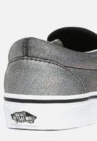 Vans - Ua classic slip-on - (prism suede) black/true white