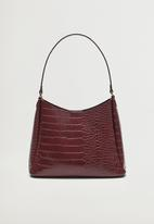 MANGO - Bag derby - red