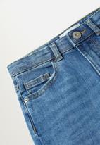 MANGO - Girls basic 5 pocket skinny jeans - blue
