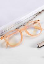 Sophie Moda - Anti blue light glasses - orange