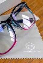 Sophie Moda - Anti blue light glasses - gradient pink