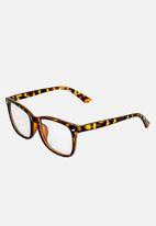 Sophie Moda - Anti blue light glasses - leopard