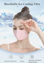 Sophie Moda - 3 pack fashion mask - pink/lilac/blue