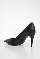 Tommy Hilfiger - Essential leather high heel pump - black