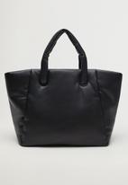 MANGO - Bag nordic - black