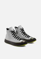 Converse - Chuck taylor all star cx color flash hi - ash stone/black/lemon venom - hi vis