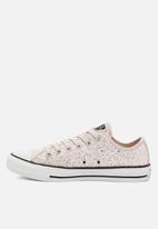 Converse - Chuck taylor all star all-over glitter ox - glitter shine