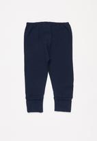 UP Baby - Soft jersey cotton pants - navy