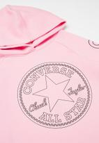 Converse - Converse classic length hoodie - pink