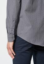 Superbalist - Jos slim fit long sleeve check shirt - multi