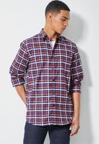 Superbalist - Barber regular fit check shirt - multi
