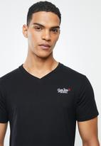 Aca Joe - Aca joe V-neck T-shirt - black