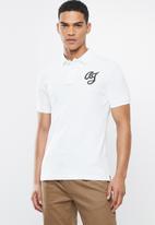 Aca Joe - Aca joe big aj logo golfer - white
