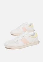 Cotton On - Alba retro low rise - white lemon pink