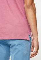 POLO - Carter custom fit pique golfer - pink