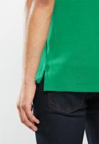 POLO - Carter custom fit pique golfer - green