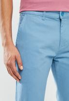 POLO - Milan perfect chino straight fit chino - blue
