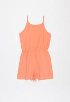 Sissy Boy - Make it happen playsuit - coral
