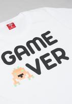 Bee Loop - Boys printed tee & sweat shorts set - multi