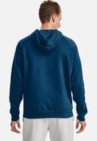 Under Armour - Ua rival fleece big logo hd - chambray blue