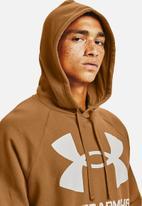 Under Armour - Ua rival fleece big logo hd - tan