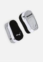 PUMA - 3 Pack invisible socks - multi