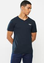 Aca Joe - Aca joe v-neck T-shirt - navy