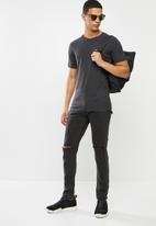 Aca Joe - Aca joe pocket T-shirt - charcoal