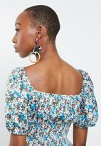 Glamorous - Co-ord v-neck top - multi
