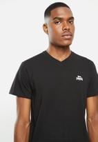 Lonsdale - 2 Pack V-neck tee - black & grey