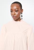 Glamorous - Pie crust tier dress - pink