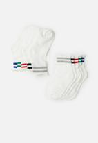 POP CANDY - 5 pack socks - white