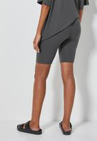 Superbalist - Rib cycle shorts - steel grey