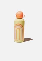 Cotton On - Aluminium drink bottle - multi