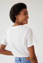 MANGO - T-shirt chalaca - white
