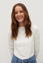 MANGO - T-shirt agna - white