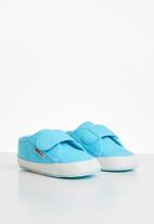SUPERGA - Infants velcro - blue fish