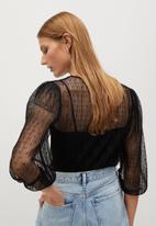 MANGO - Maura blouse - black