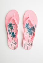 Blossom Girl - Flower flip flop - pink