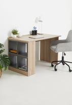 Sixth Floor - Study desk 509 grey cubes