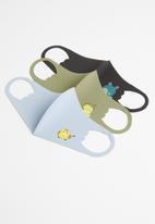 Sophie Moda - 3 pack kids masks - multi