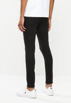 STYLE REPUBLIC - Ripped super skinny jeans - black