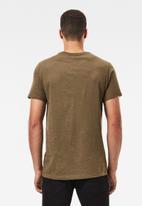 G-Star RAW - Base-s r short sleeve tee - olive