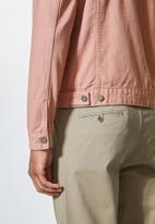 Superbalist - San Fran denim trucker jacket - pink