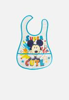 Character Group - Mickey mouse catcher bibs - white