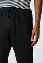 Superbalist - Tokyo regular fit sweatpants - black