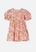 Cotton On - Joy short sleeve dress - multi